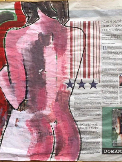 Sandra Rigali: Nudo USA, 2015