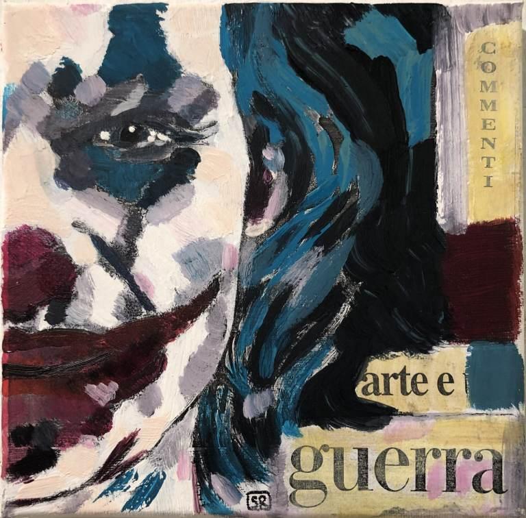 arte e guerra, 2019 – t.m. su tela, 20x20cm